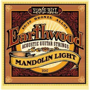 Intelligent Ernie Ball Earthwood 80/20 Bronze Mandolin Strings-light-afficher Le Titre D'origine Achat SpéCial