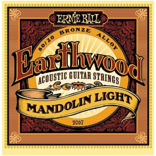 Ernie Ball Earthwood 80//20 Bronze Mandolin Strings Light