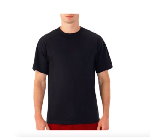 Single 2 Pack 3 Pack Fruit of The Loom Eversoft Mens T-shirt Short Sleeve Tee
