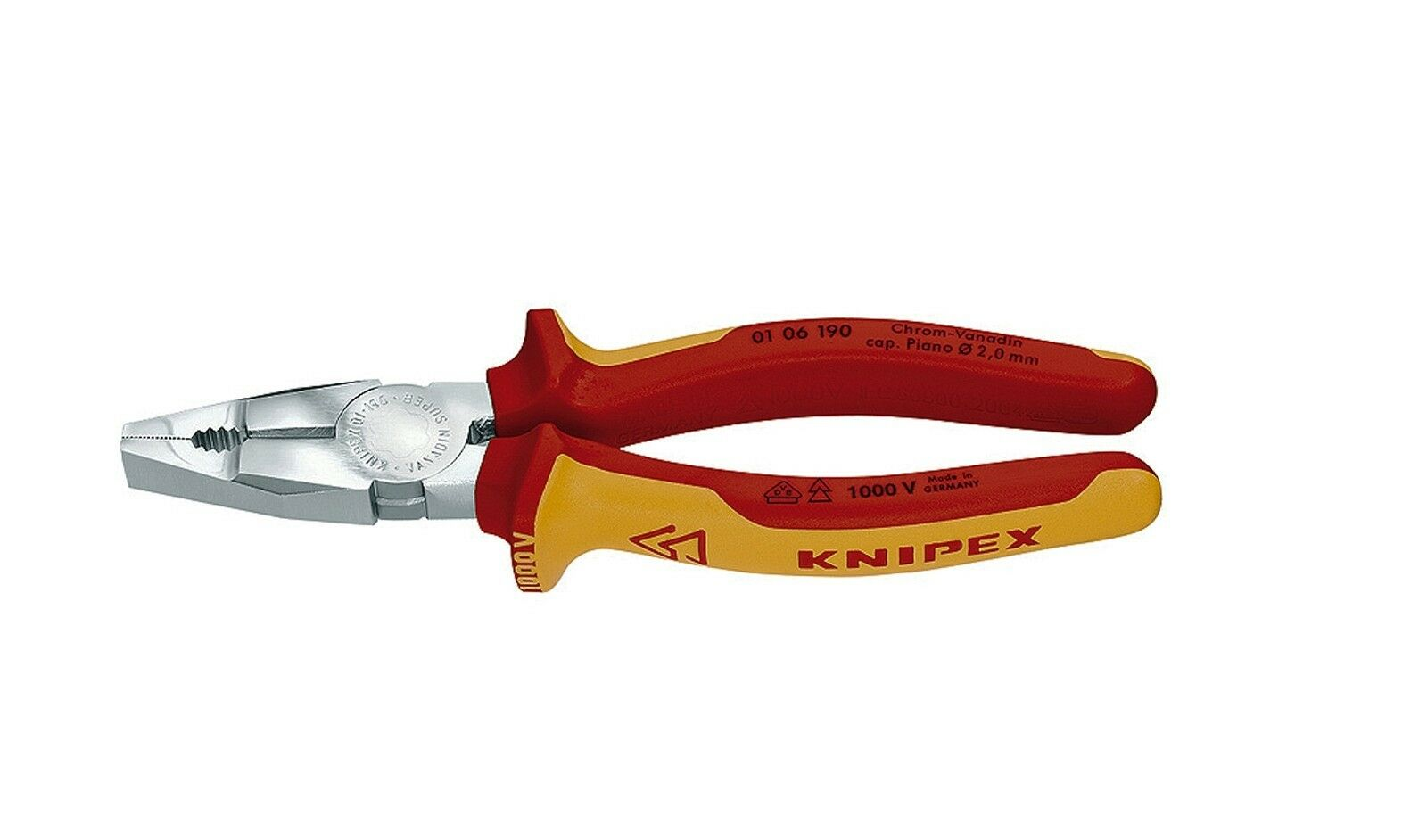 Knipex Combi Pliers Chrom-Vanadin Model 01 06, 2 Lengths