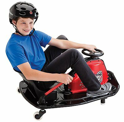 NEW Razor Crazy Go-Kart Cart Ride On with 24V Batteries Drifter Drifting Machine