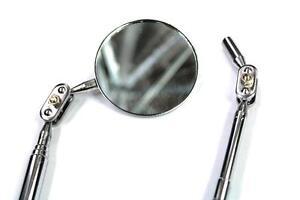 Teleskop-Spiegel-amp-Magnet-ausziehbar-Geocaching-Werkzeug-Set-Inspektionsspiegel