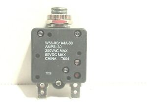 NEW-30-amp-250VAC-MAX-W58-XB1A4A-30-breaker-switch-NEW