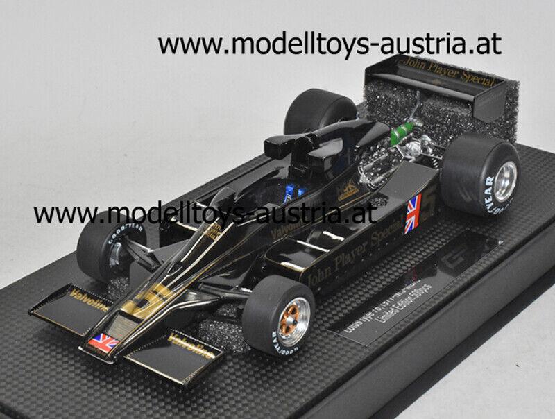 Lotus 78 Ford 1977 Mario ANDRETTI 1 18 GP Replicas