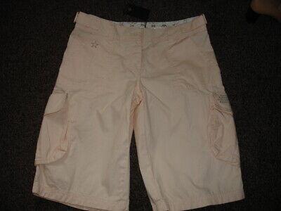 100% Vero Lovely Donna Criminale Pantaloni Corti Con Tasconi-taglia M Nuova Con Etichetta Didascalia-mostra Il Titolo Originale