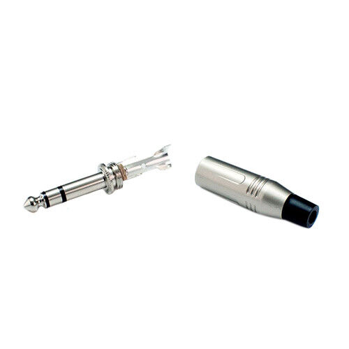 Lynx 6.35mm 1/4 Cable Solder Stereo Balanced Jack Connector Audio Plug PRO