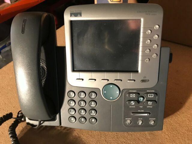 Phone Cisco CP-7970 VOIP Telephone