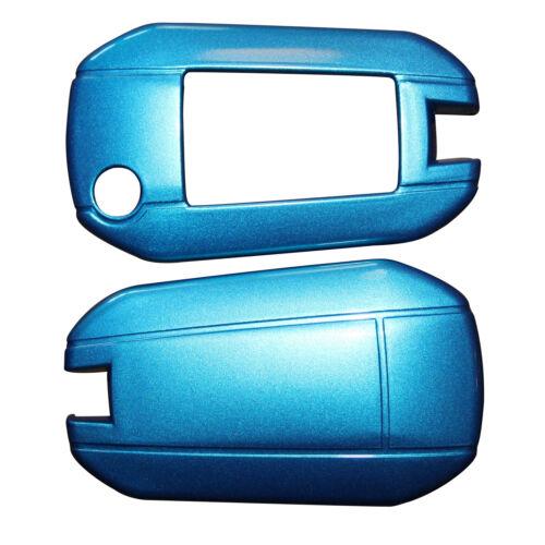 Plaste Auto Hülle hard Cover Kunststoff Peugeot 208 308 408 508 Schlüssel Etui