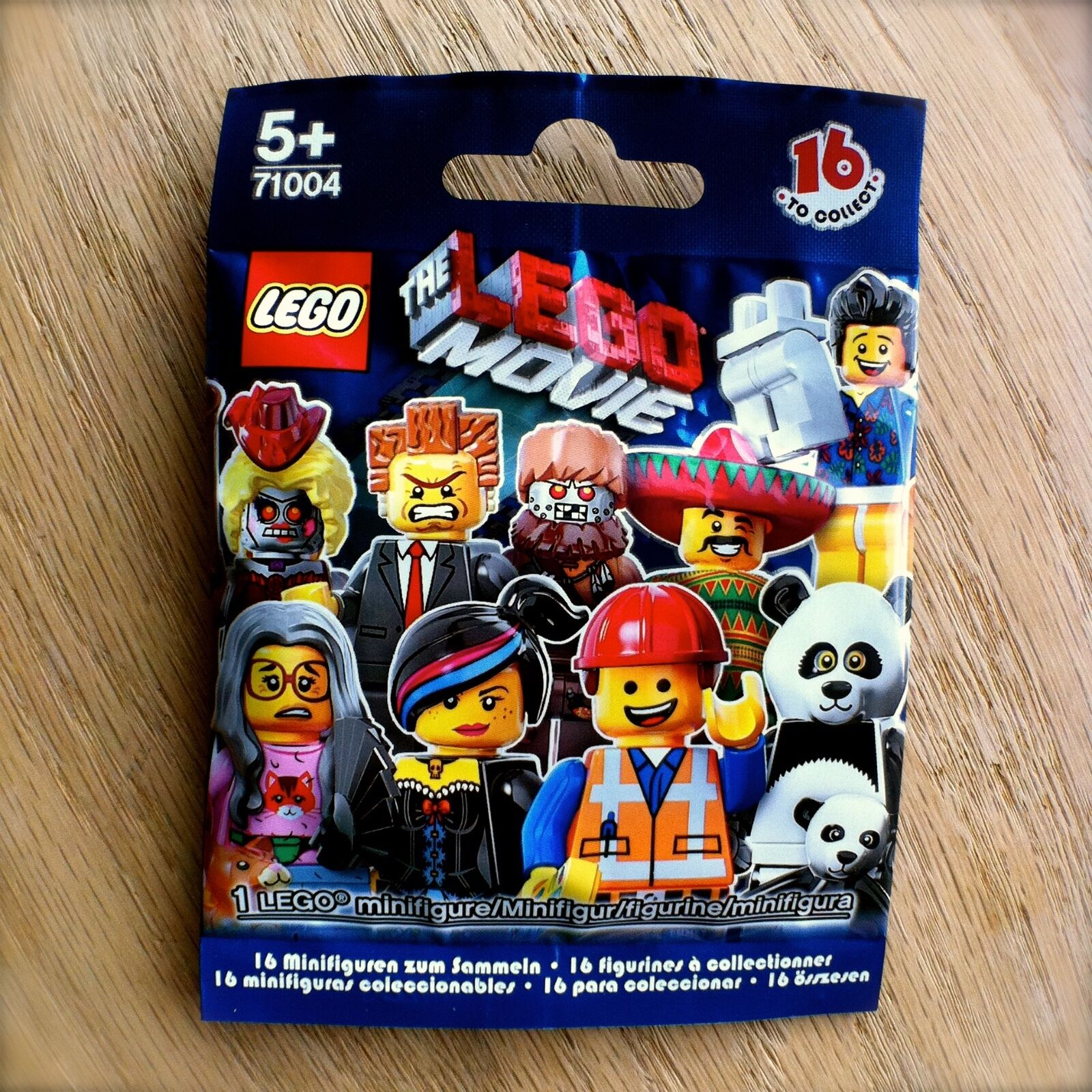 THE LEGO MOVIE Minifigures COMPLETE SEALED SET 16 SEALED COMPLETE Minifigs 71004 Series bundle f82fd0