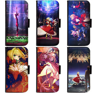 Anime-Fate-EXTRA-Last-Encore-Phone-Wallet-Flip-Case-Cover-for-Apple-Sony-1