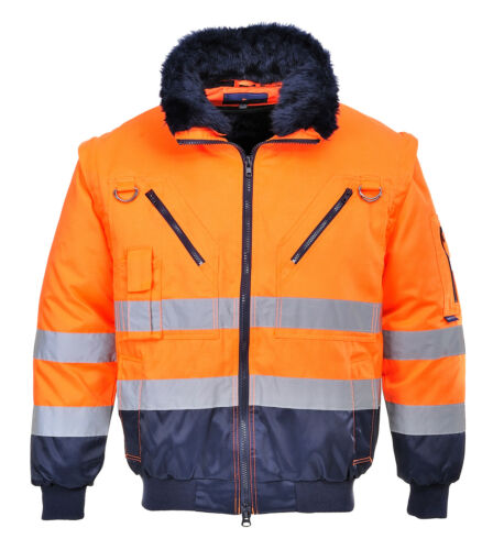 in 3 Jacket Various vis Size And Pj50 1 Portwest Men Pilot Hi Fit Color Regular qwIWR
