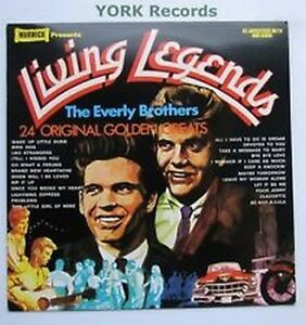 LP Everly Brothers  Living Legends     WARWICK WW5027 - Aberdeen, United Kingdom - LP Everly Brothers  Living Legends     WARWICK WW5027 - Aberdeen, United Kingdom