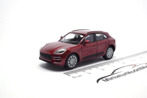 #870067002 Minichamps Porsche Macan Turbo 1:87 Rot Metallic