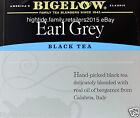 Bigelow Earl Grey Black Tea Individually Wrapped, 20 40 60 80 or 100 Bags