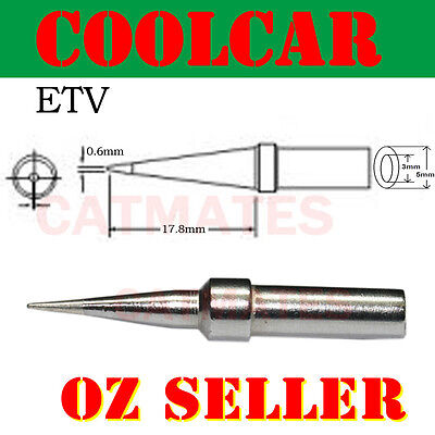 Solder Soldering Station Iron Tip ETT for Weller PES51 WES51 WESD51 conical OZ