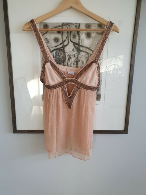 Vintage SASS AND BIDE 'Ethereal Beauty' Silk Beaded Top.