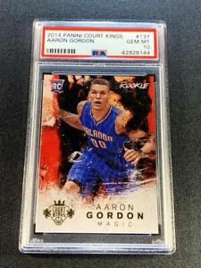 AARON-GORDON-2014-PANINI-COURT-KINGS-137-ROOKIE-RC-PSA-10-POP1-1-1