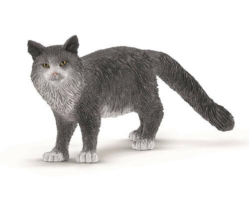 farm World Gatti SCHLEICH 13893-Maine Coon-gatto nuovo con etichetta