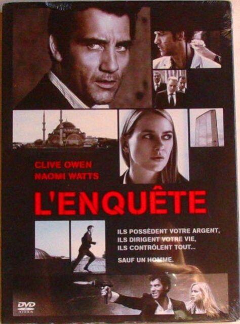DVD L'ENQUETE - Clive OWEN / Naomi WATTS - NEUF