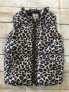 ef063e6f34af Gymboree - Girl s Animal Print Puffer Vest - Size 7   8 Jacket ...
