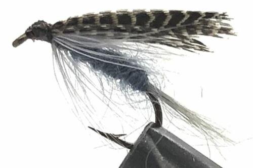 Wet Dark Hendrickson on a Bronze 10 Mustad Hook 10 Flies