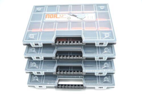 "4 X Assortiment Encadré Boite Organiseur Sortierkasten box 12/"" 35x195x290"