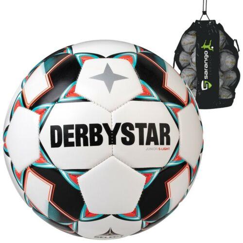 20er ballpaket Derbystar Junior S-Light football jeunesse trainingsball 290 Taille NEUF