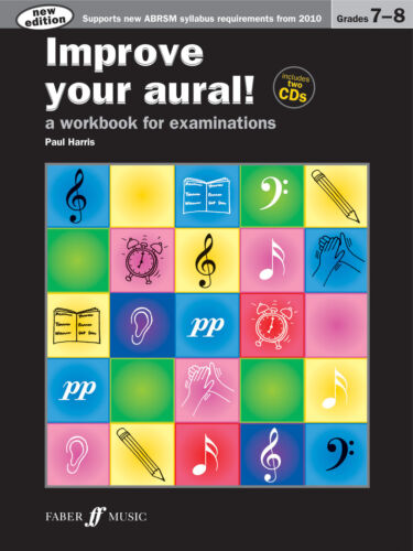 Improve Your Aural Grades 7-8 New Edition Piano Solo SONGS FABER Music BOOK /& CD