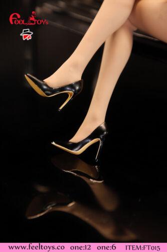 1//6 1//12 FT015  Feeltoys Female Ladies OL High heels Sandals Shoes Model Toys