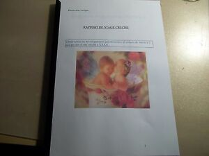 Details About Report Stage Creche Folder Pro Cap Childhood Fast Dispatch After Payment Show Original Title