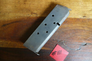 Colt-1911-1911A1-Magazine-WWII-Issue-Made-by-Colt-Good-Shape-Capacity-7