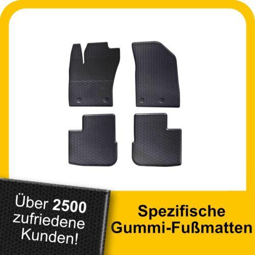 Für Fiat Tipo Kombi ab 16 Gummimatten Fußmatten Original Qualität Kpl.