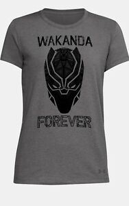 Fit Under Armour Marvel Nwt Donna Loose Panther Black Wakanda Forever Ua 1qFqfwx8