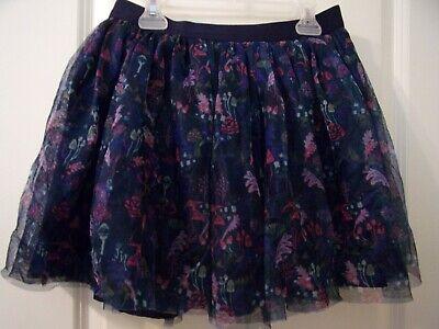 Gymboree Girls Clothes Size 14 XL Elastic Waist Casual Solid Purple Kids Shorts