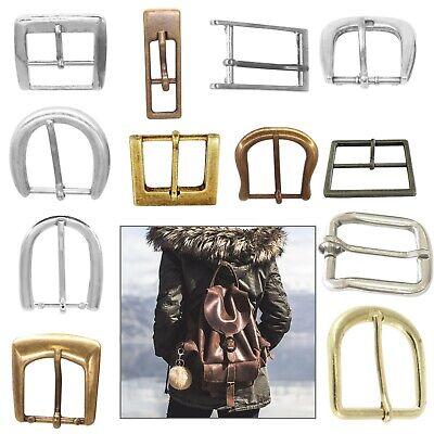Metal Heavy Duty Single Pin Buckle DIY Repair Bag Handbag Leather Belt Clothing