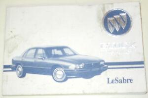 GM-1995-Buick-LeSabre-Owner-039-s-Manual