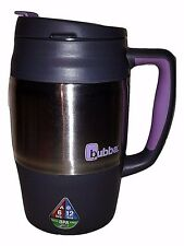 Bubba 34oz Mug Keg 1L Grey Purple Lid Insulated Hot Cold BPA Free Travel Coffee