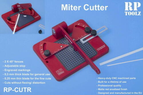 RP Toolz Mitre Cutter for Plastic Wood /& Soft Material Cutting Styrene