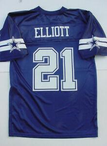 NWT Esekiel Elliot 21 Dallas Cowboys MESH Printed Jersey MENS Sz M ... 4ffe2a748