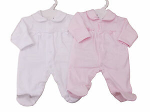 BNWT-Exclusive-to-Kiddiewinks-Prem-Preemie-Baby-girl-soft-cotton-sleepsuit-5-8lb