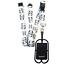 CORDINO-staccabile-spirius-Cellulare-Caso-Holder-tracolla-con-tasca-di-carta miniatura 40