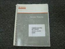 Toyota 7 Series 7fbeu 7fbh 7fbcu Forklift Lift Truck Shop Service Repair Manual