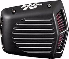 K&N Street Metal Finned Air Filter Intake 08-17 Harley Touring Twin Cam RK-3951