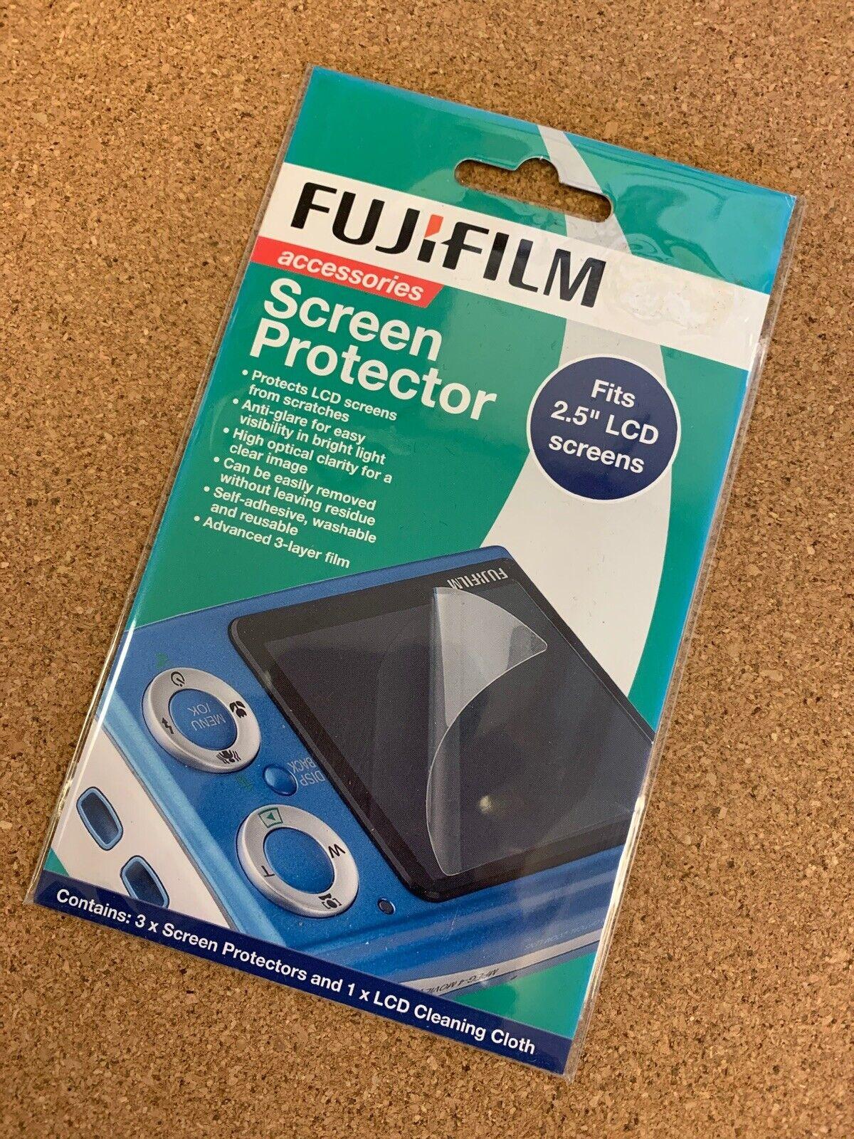 "Fujifilm Screen Protector for 2.5"" (diagonal) Inch LCD Screen"