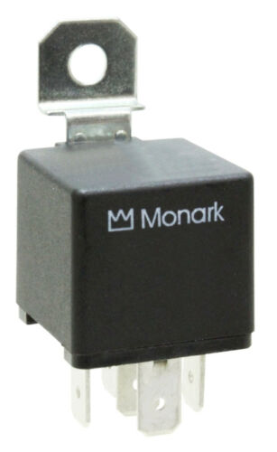 "2 x Borne/"" 87/""//single contact relais MONARK mini relais 24 v//20 a N.O"
