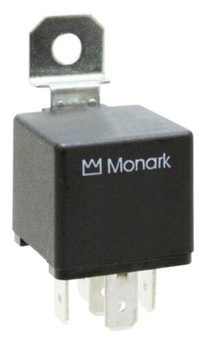 "2 x Borne/"" 87/""//single contact relais MONARK mini relais 24 v//20 a N.O"