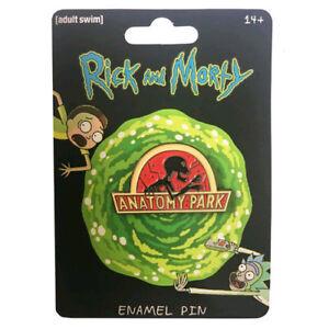 Rick-and-Morty-Anatomy-Park-Enamel-Pin-NEW