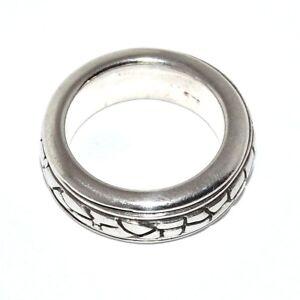 Bijou-argent-925-bague-anneau-centre-amovible-taille-56-ring