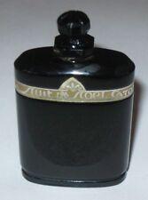 Vintage Caron Nuit de Noel Perfume Baccarat Style Bottle 1 OZ - Open - 1/2 Full