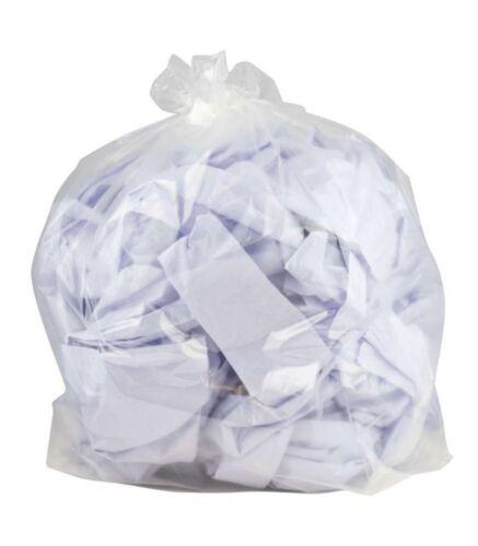 Clear Medium Duty 140 Gauge Bin Liner Bags Case of 200 Bin Liners